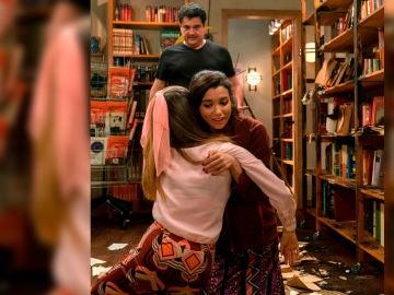 Diego Lesmes ensaya el rescate de Amelia con Carol Rovira y Paula Usero