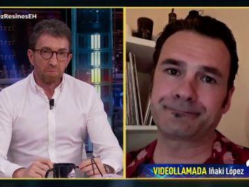 """La decepción de Iñaki López con la gestión del coronavirus: """"Han cultivado una crispación que está llegando a la calle"""""""