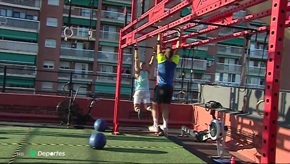 Un gimnasio en las alturas en Valencia