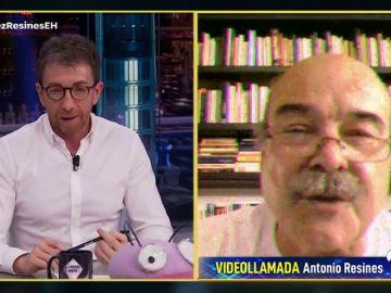 """El rifirrafe entre Pablo Motos y Antonio Resines: """"Te veo la cara igual de gorda"""""""