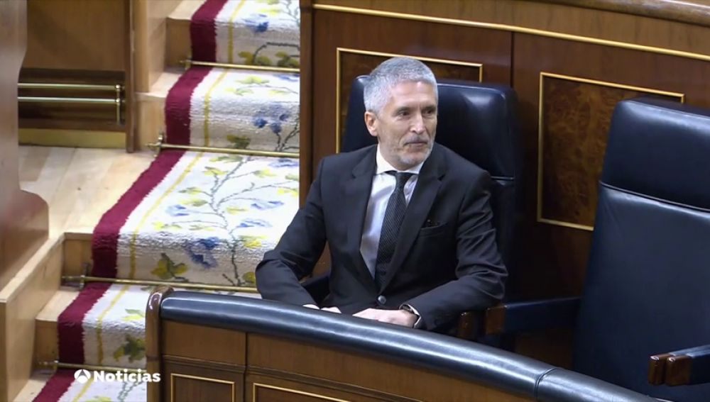 Tres partidos piden la dimisión del ministro del Interior, Fernando Grande-Marlaska acusándole de intromisión en la investigación del 8M