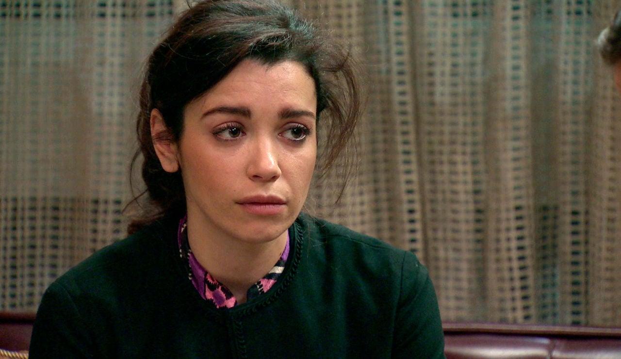 Amelia, aturdida por el incendio se sincera con Marcelino