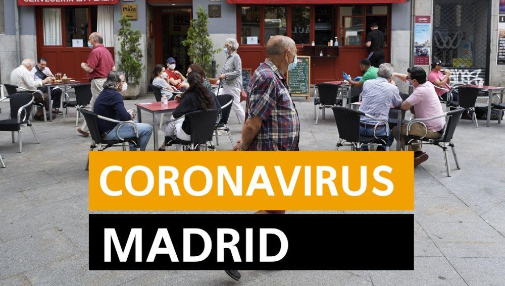 Coronavirus Madrid: Fase 1 de la desescalada, datos de contagios y muertos y últimas noticias de hoy miércoles 27 de mayo, en directo   Última hora Madrid