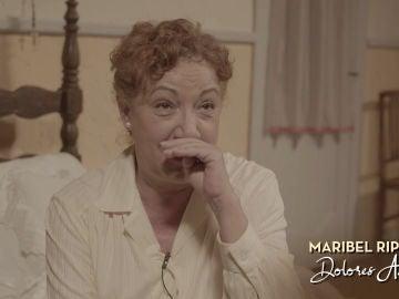 El emotivo recuerdo de Maribel Ripoll de su primera secuencia como Dolores Asenjo