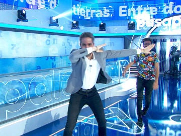 """""""¡Qué paliza!"""", Chema Martínez acepta el reto de Roberto Leal tras su derrota en 'La Pista'"""