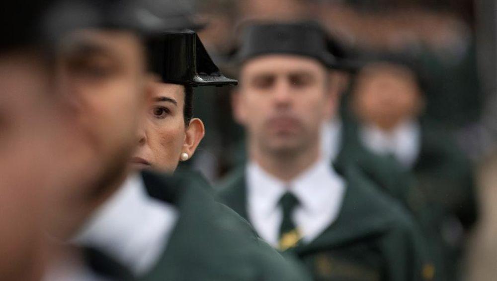 Promoción de la Guardia Civil en Baeza