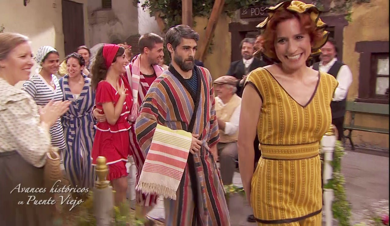 Los avances de la moda, un escándalo para los vecinos de Puente Viejo