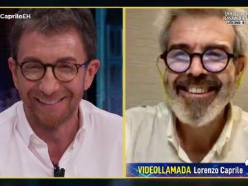 Pablo Motos y Lorenzo Caprile, ¿separados al nacer?