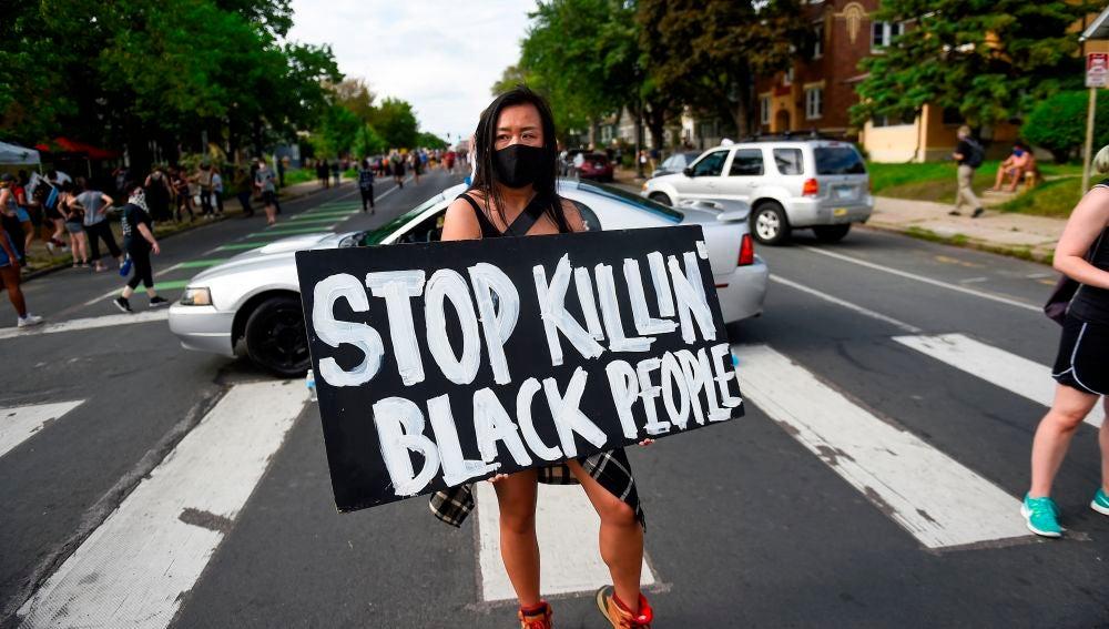 Protestas en Mineápolis