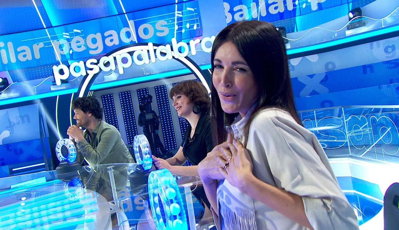 Noelia López se pone romántica al 'Bailar pegados' en 'La Pista'