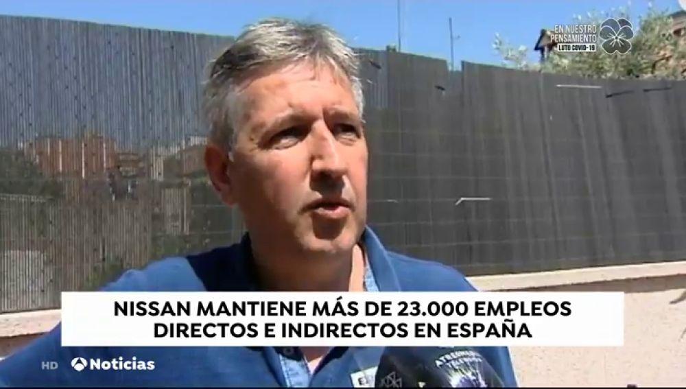 """Sergio, trabajador de Nissan en Barcelona desde 1991: """"Una mañana muy dura, ha sido estremecedor"""""""