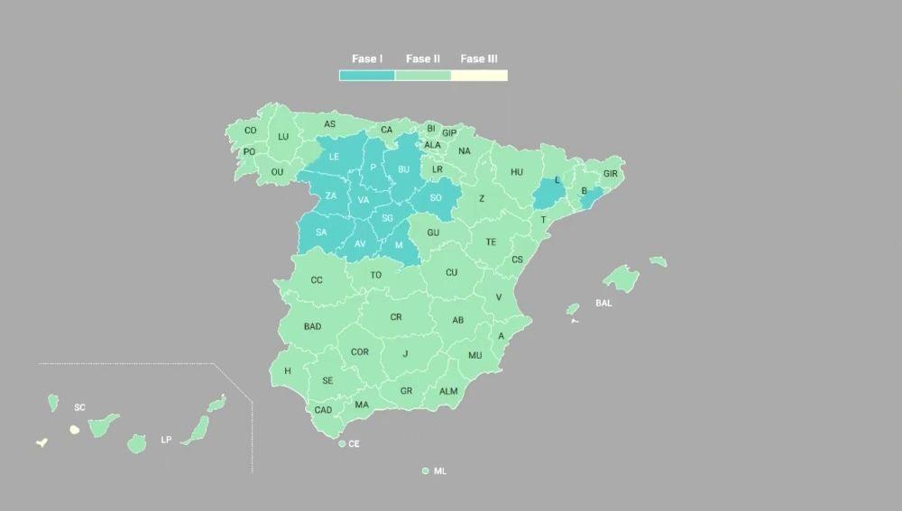 Mapa fase 1, 2 y 3