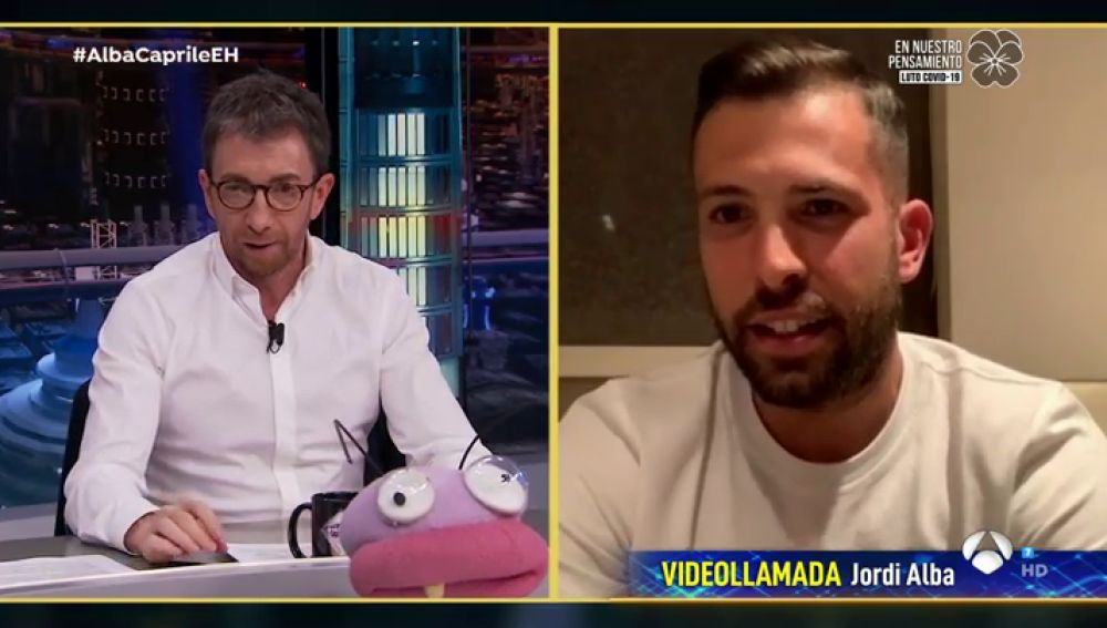 """Jordi Alba se pronuncia sobre las nuevas normas en el fútbol tras el coronavirus: """"Es un deporte de contacto y será muy complicado"""""""