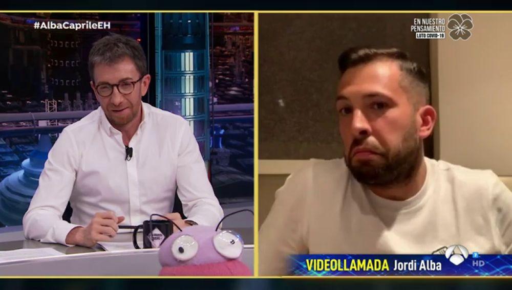 """""""¡Eso se lo han inventado!"""", Jordi Alba lo deja claro: las gachas con avena no son su receta favorita"""