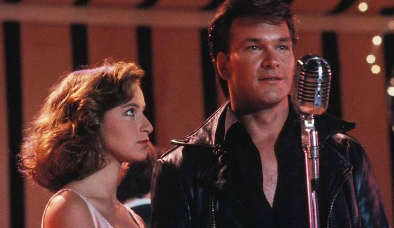 Patrick Swayze y Jennifer Grey en 'Dirty Dancing'