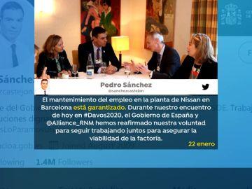 Pablo Casado recuerda que Pedro Sánchez dijo que el empleo en Nissan estaba garantizado