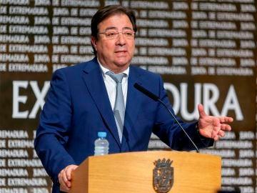 El jefe del Ejecutivo extremeño, Guillermo Fernández Vara