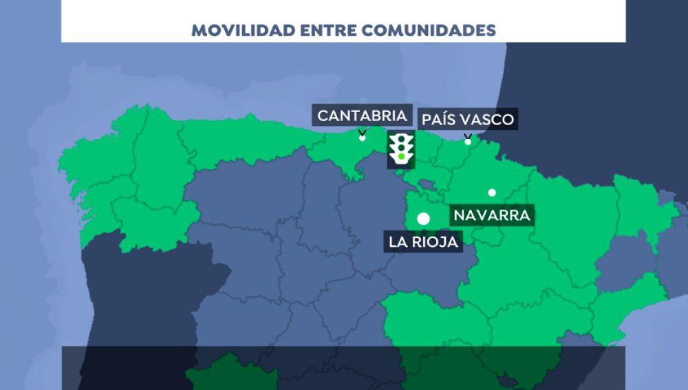 País Vasco negocia la movilidad con Cantabria, Navarra y La Rioja