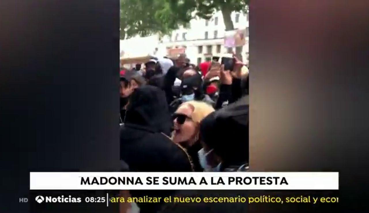 Madonna en las protestas contra el racismo