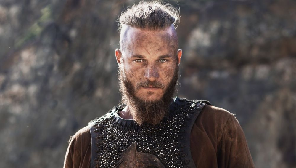 Travis Fimmel como Ragnar en 'Vikingos'