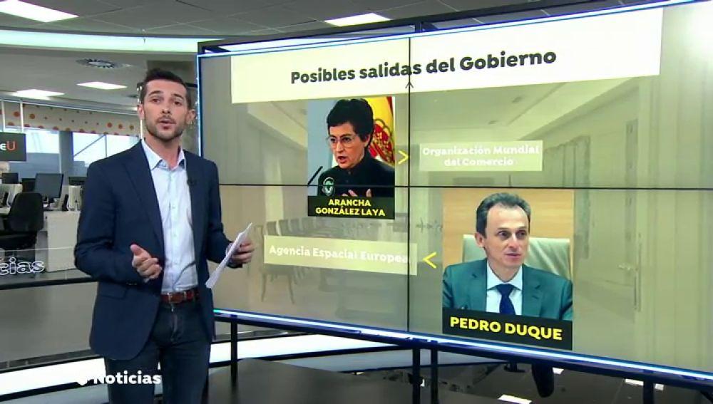Pedro Duque y Arancha González Laya, las opciones de España para dirigir organismos internacionales