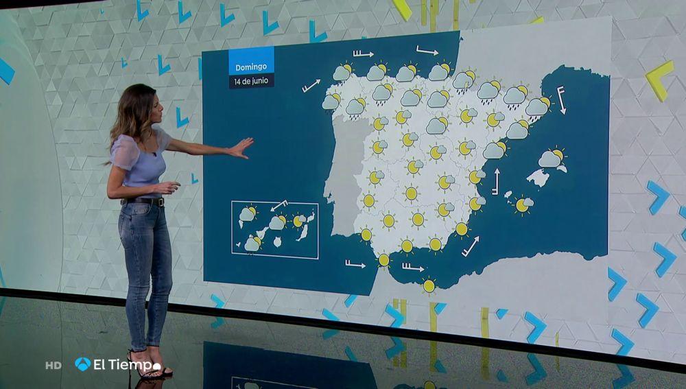 Tu Tiempo (13-06-20) Continúa la inestabilidad, con precipitaciones y viento