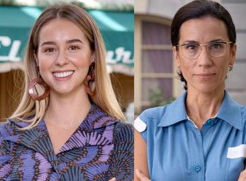 Paula Usero e Itziar Miranda, Luisita y Manolita en 'Amar es para siempre'