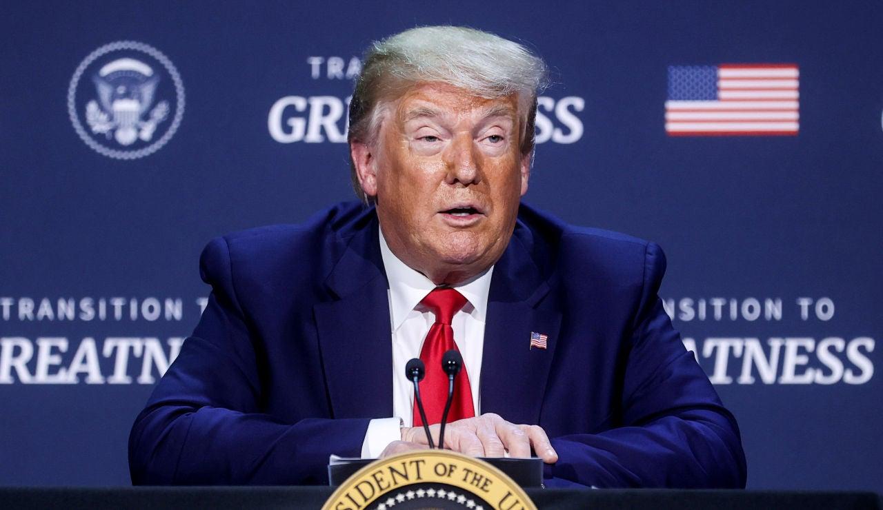 El presidente de los Estados Unidos, Donald Trump