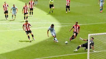 Diego Costa marca gol ante el Athletic