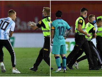 ¿Cómo logró el espontáneo invadir el campo en el Mallorca - Barcelona jugado a puerta cerrada por el coronavirus?