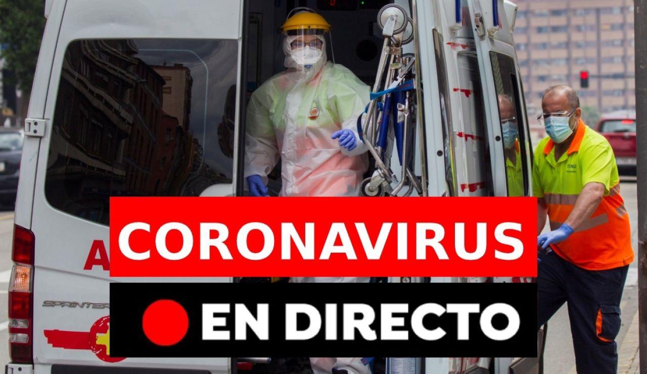 Coronavirus España hoy: Última hora de la desescalada, muertos, nuevos casos y noticias, en directo