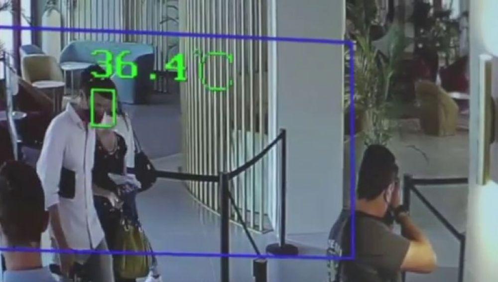 Una cámara medirá la temperatura de los turistas: así son las medidas de los hoteles en el plan piloto de Baleares