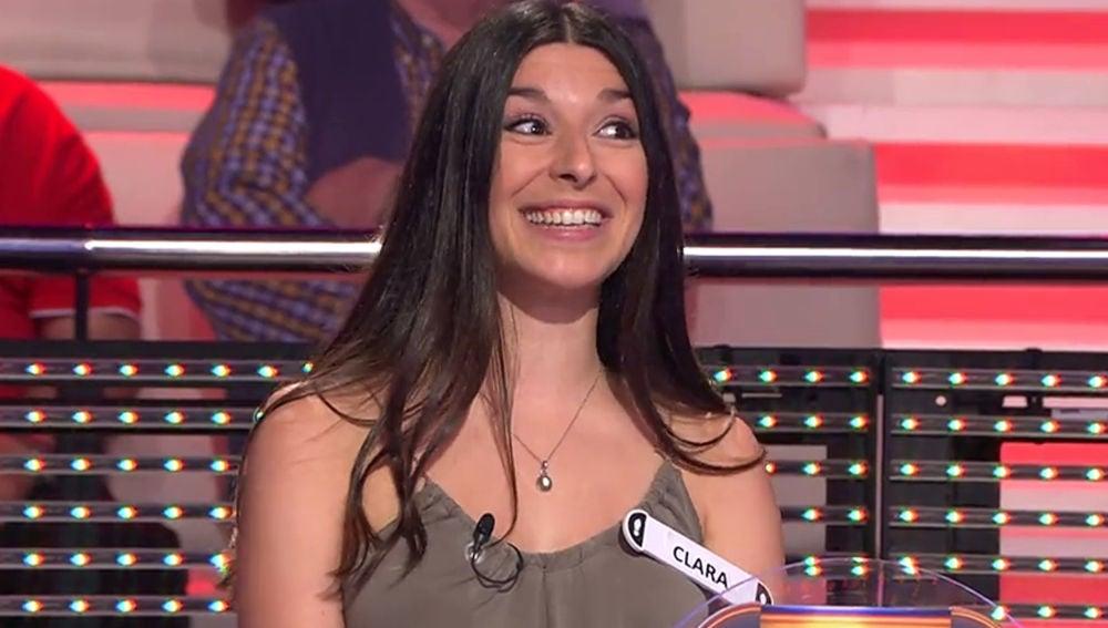 Clara Aranda, concursante de '¡Ahora caigo!'