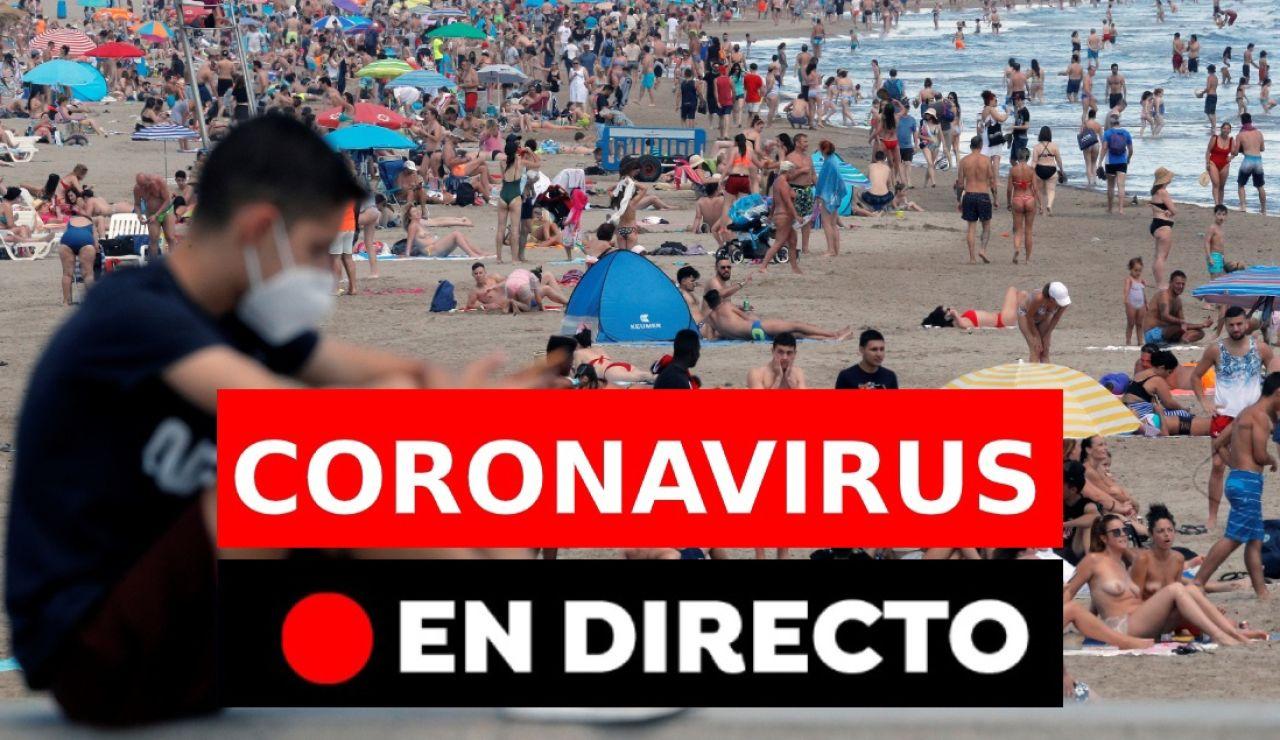 Coronavirus España hoy: Nueva normalidad, fase 3, muertos y última hora, en directo