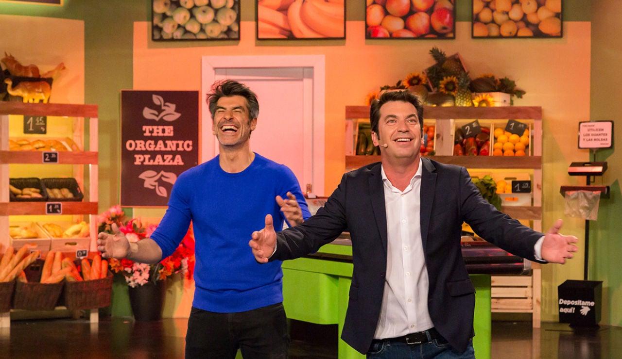 Arturo Valls y Jorge Fernández confiesan con qué otro presentador intentan competir