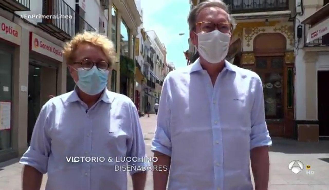 """La anécdota de Victorio y Lucchino sobre sus inicios en la moda en Sevilla: """"Dijeron que con esta ropa tan moderna íbamos a durar muy poco"""""""