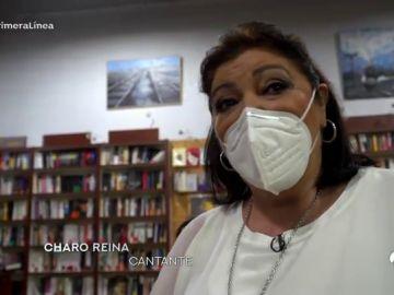 La actriz Charo Reina recorre emocionada la emblemática calle Sierpes de Sevilla