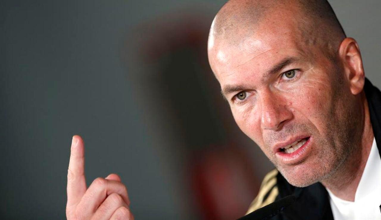 """Zinedine Zidane, sobre el calendario del Real Madrid en Liga: """"Nos adaptamos, no hay excusas"""""""