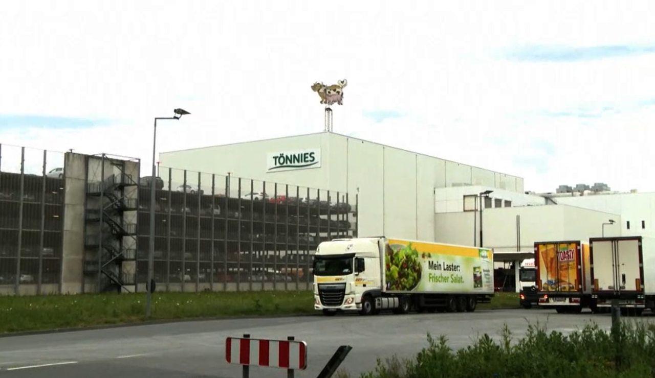 Empresa cárnica en Alemania