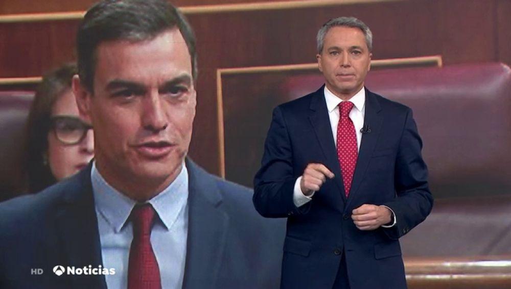 Vicente Vallés explica los dos temas que Pedro Sánchez no ha respondido en el Congreso