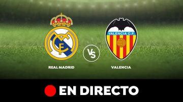 Real Madrid - Valencia: Resultado y goles del partido de hoy, en directo   Liga Santander