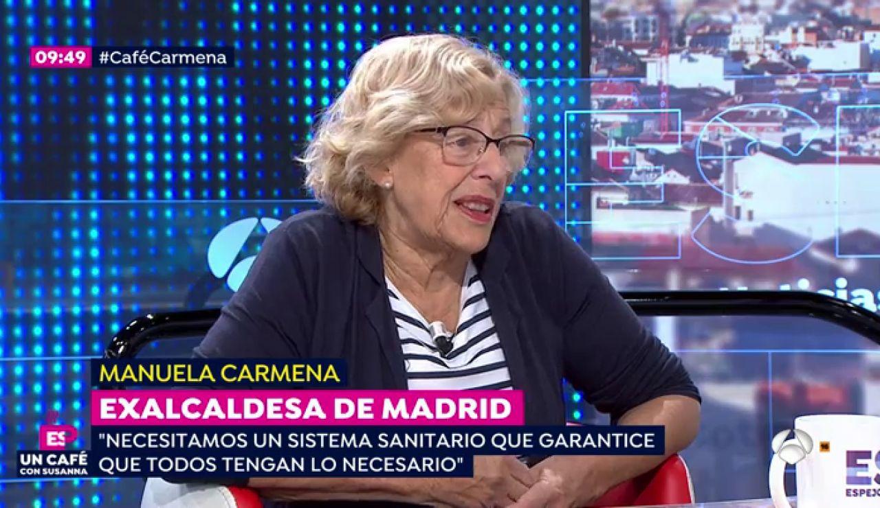 Manuela Carmena sobre las residencias: Yo