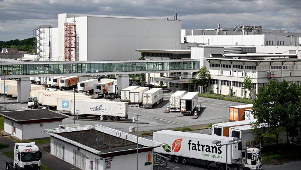 Al menos 650 contagiados por coronavirus en un matadero en Alemania