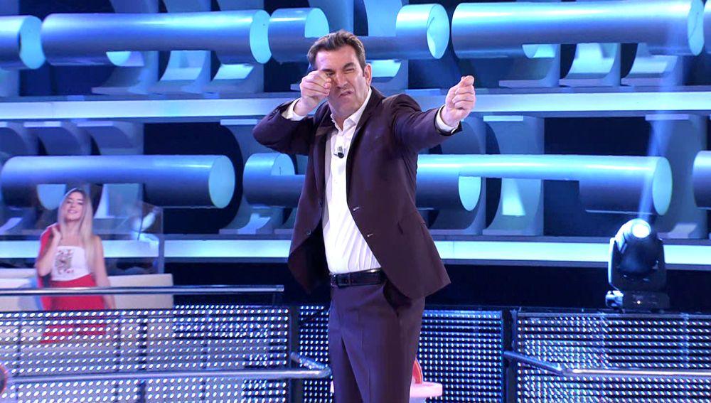 La muerte más impresionante vivida en '¡Ahora caigo!' por la flecha de Arturo Valls
