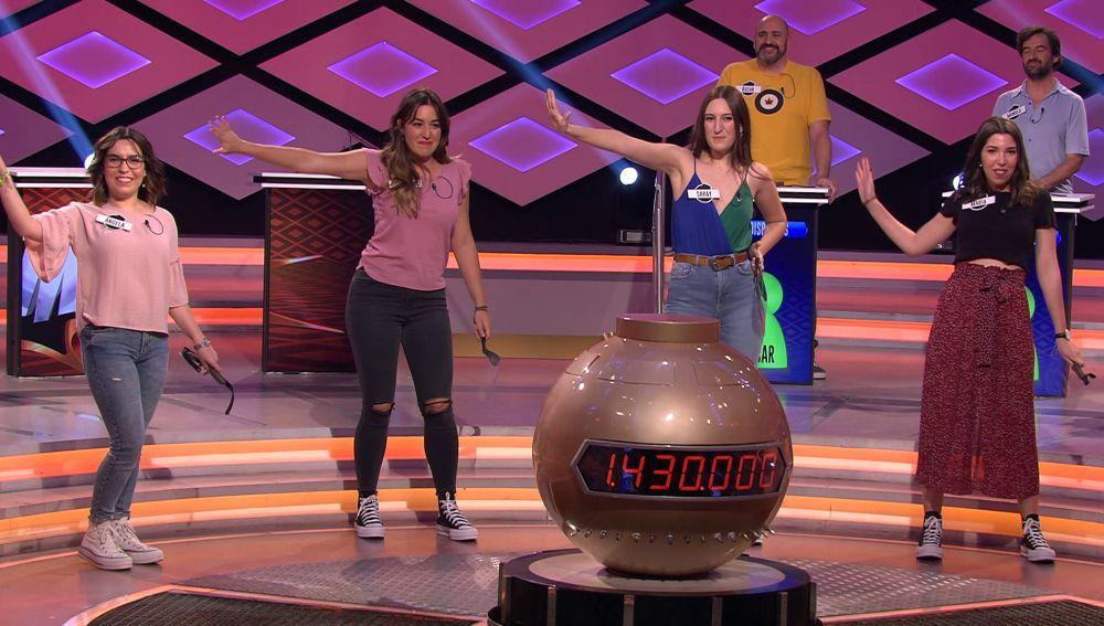 La presentación de 'Las circas' entra en el ránking de las más divertidas de '¡Boom!'