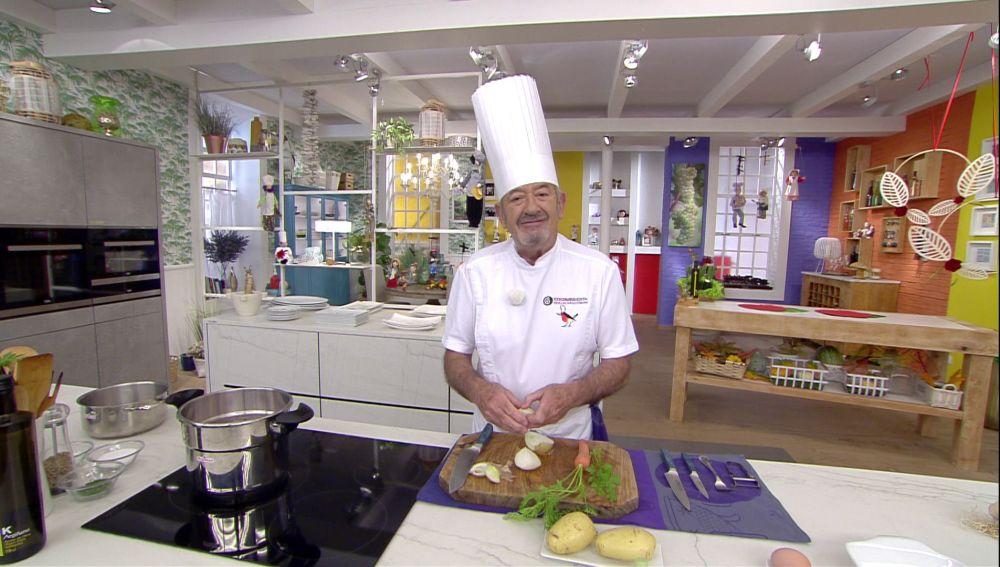 Karlos Arguiñano propone otra forma más fácil de hacer la receta de lengua de ternera