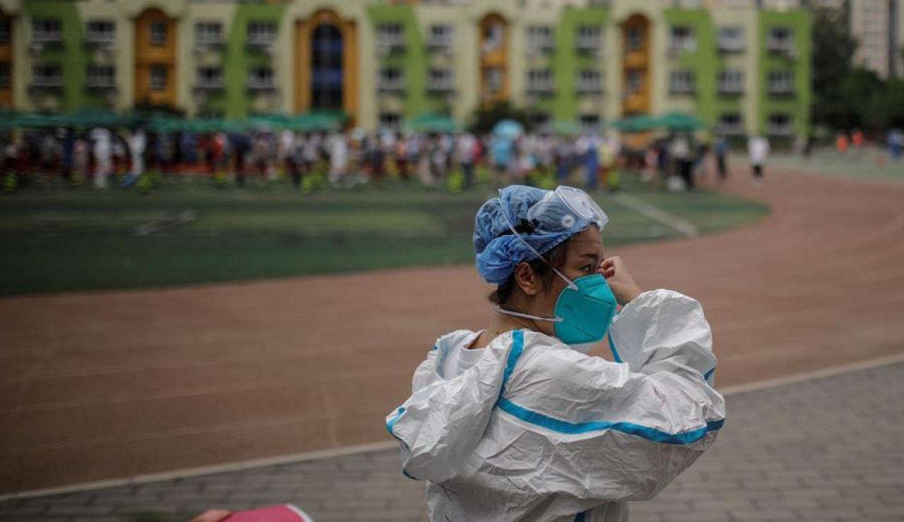 Pekín controla el rebrote de coronavirus