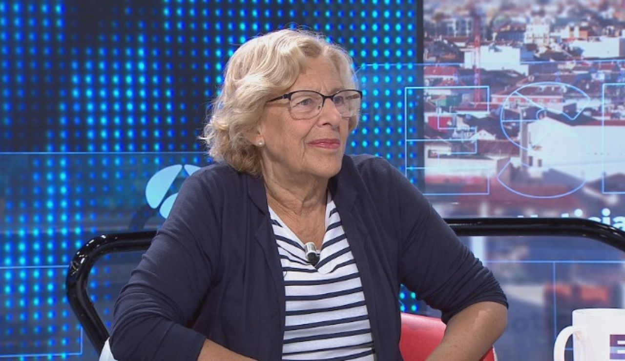 Manuela Carmena sobre residencias