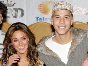 Christian Chávez y Anahí Puente en 'RBD'
