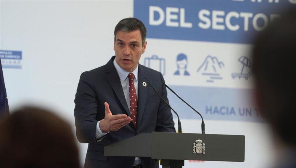 El presidente del Gobierno, Pedro Sánchez, aprueba un Plan de impacto para el turismo